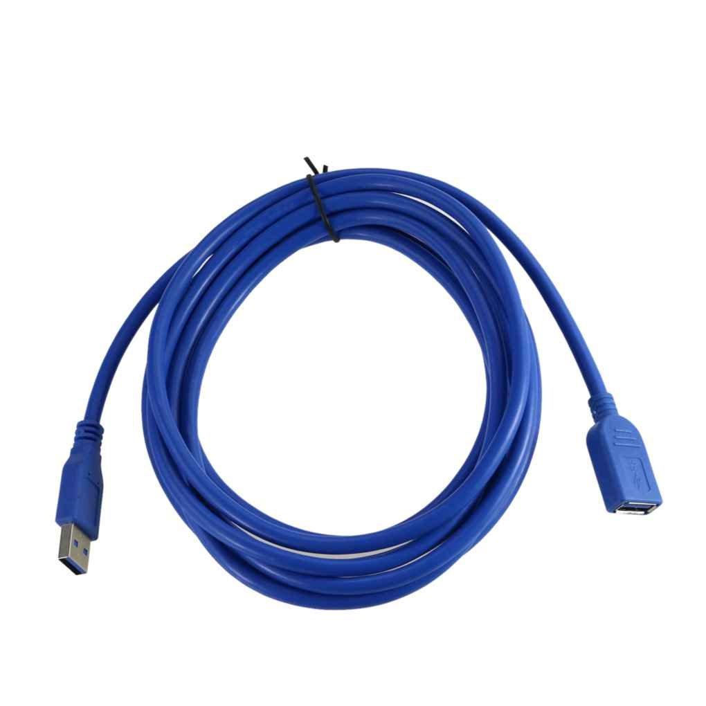 zeruangewei 0,3//0,5//1,5//3 USB Type A 3,1 M Femme Homme de Type A AF-AM FR Extension Adaptateur de c/âble