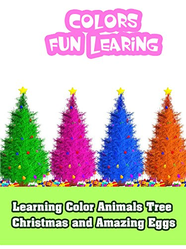 Amazing Animals Video (Learning Color Animals Tree Christmas and Amazing Eggs)