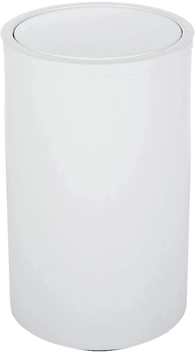 Decor Walther Dw 121 Round Laundry Bin With Swing Lid Matt White Amazon Co Uk Kitchen Home