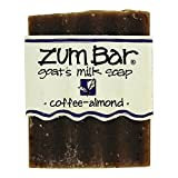 coffee bar soap - Coffee And Almond Zum Bars Multipack (5 Count) by Indigo Wild