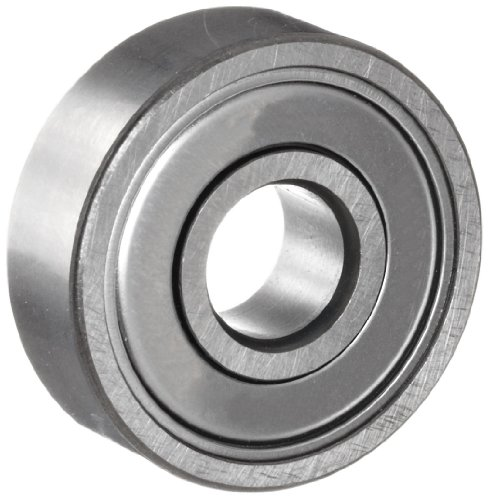 NSK 6203ZZ Deep Groove Ball Bearing, Single Row, Double Shielded, Pressed Steel Cage, Normal Clearance, Metric, 17mm Bore, 40mm OD, 12mm Width, 17000rpm Maximum Rotational Speed, 1079lbf Static Load Capacity, 2147lbf Dynamic Load Capacity - Double Row Ball Bearing