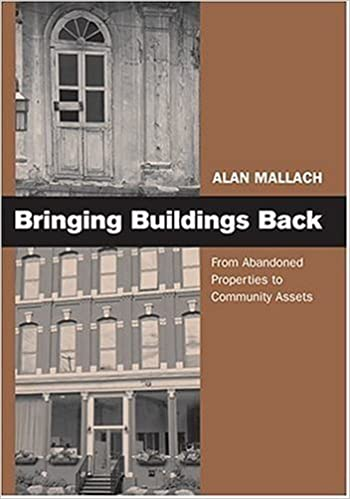 Bringing Buildings Back: From Abandoned Properties To Community Assets by Alan Mallach (2006-06-21)