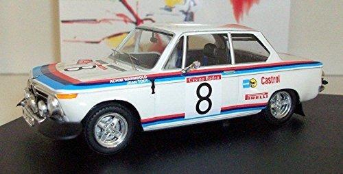 1/43 BMW2002 1973年オーストリアアルピーネラリー #8 A.Warmbold/J.Todt 1704
