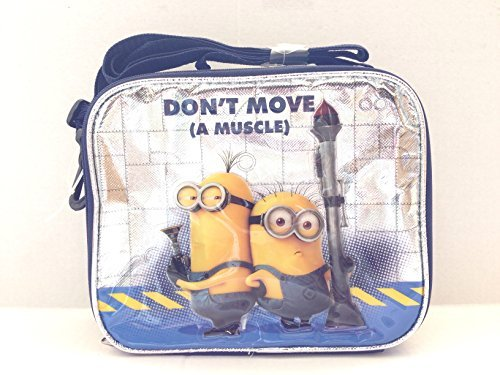 2015 New Despicable Me Minions Don't Move a Muscle Lunch Bag