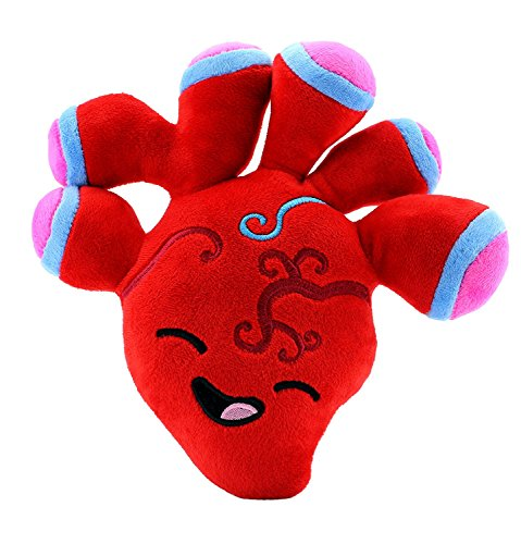 Attatoy Heart Plush, Stuffed Plush Heart Toy Body Organ, 10
