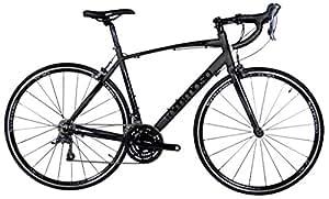 Tommaso Forcella Compact Aluminum Road Bike - Matte Black - XS