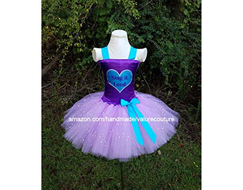 Liv Inspired Tutu Costume Dress Christmas Holiday Winter Pageant Birthday Halloween Girls Newborn Infant Toddler Baby Outfit Onesie Shirt Bow Party Princess Kids Gift Topper Favors
