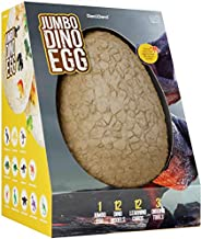 Jumbo Dino Egg - Unearth 12 Unique Large Surprise Dinosaurs in One Giant Filled Egg - Discover Dinosaur Archae