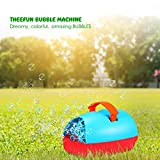 Theefun Portable Battery or USB Powered Bubble Machine For Outdoor or Indoor Use