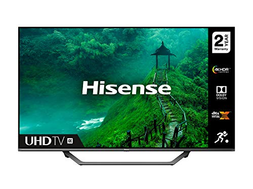 HISENSE 43AE7400FTUK Dolby Vision 43-inch 4K UHD HDR Smart TV with Freeview play, and Alexa Built-in (2020 series)