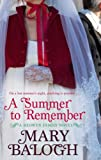 A Summer to Remember by Mary Balogh front cover