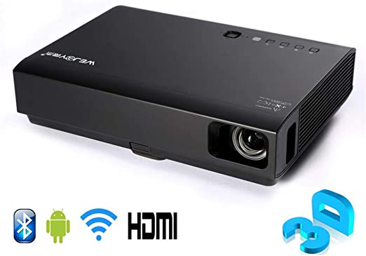 Proyector, Inicio 3D láser LED Mini proyector Android Full HD ...