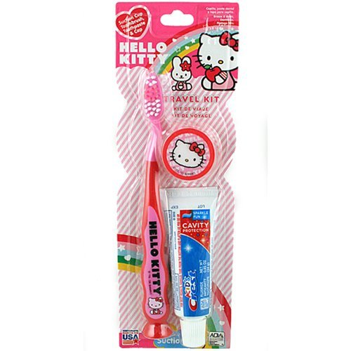 Hello Kitty зубная щетка Travel Kit