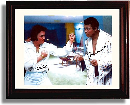 Framed Muhammad Presley Autograph Print product image