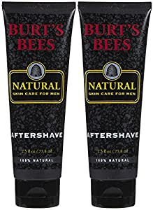 Burt's Bees Natural Men's Aftershave - 2.5 oz - 2 pk