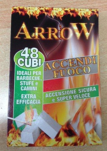 Encender Arrow 48 Cubi ideal para barbacoa Estufas y Chimeneas 6 paquetes
