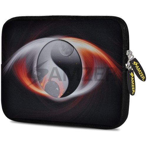 Amzer 7.75-Inch Designer Neoprene Sleeve Case Cover Pouch for Tablet, eBook and Netbook - Serenity (AMZ5011077)
