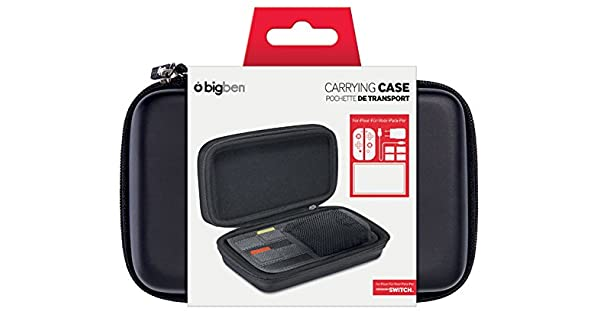 BigBen Interactive - Funda Rígida De Goma EVA, Color Negro (Nintendo Switch): Amazon.es: Videojuegos