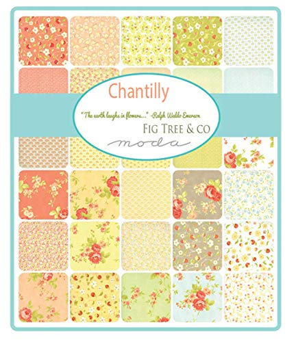 Chantilly 40 Fat Quarter Bundle by Fig Tree & Co. for Moda Fabrics by Moda Fabrics (Image #1)