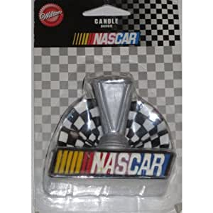 Cake Decorating Checkered Flag : Amazon.com: Nascar Candle Trophy Checkered Flag Unique ...