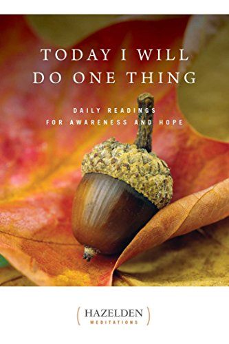 Today Will One Thing Meditations ebook