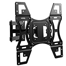 Lumsing Full Motion Articulating Tilt Swivel TV Wall Mount Bracket for 22-50 Inch TV LED LCD Plasma Samsung Flat Screen Monitor VESA 400x400mm