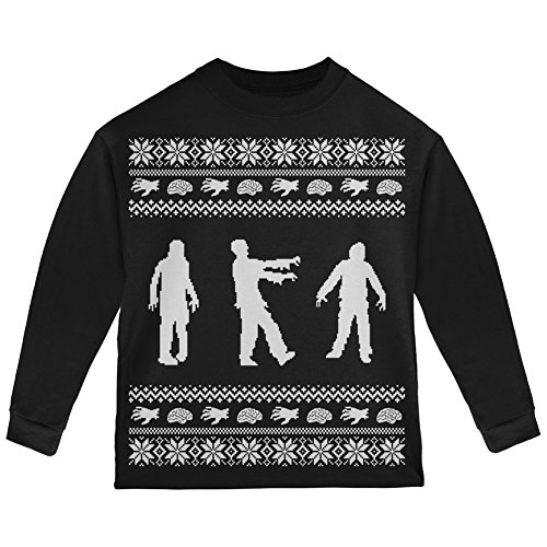 Zombie Ugly Christmas T-Shirt Toddler