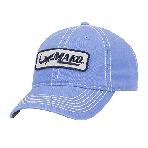 Mako Boats Columbia Blue Unstructured Tidal Wave Cap Hat