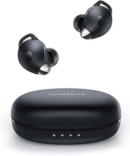 Amazon Com True Wireless Earbuds Taotronics Soundliberty 79 Smart Ai Noise Reduction Technology For Clear Calls Single Twin Mode 30h Playtime Usb Type C Ipx8 Waterproof