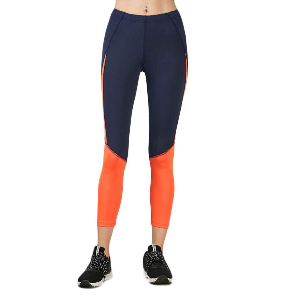 FELZ Pantalones de Yoga Mujer Mujer Pantalones de Nueve Minutos de ...