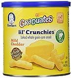 Gerber Graduates Lil' Crunchies, Mild Cheddar, 1.48 oz