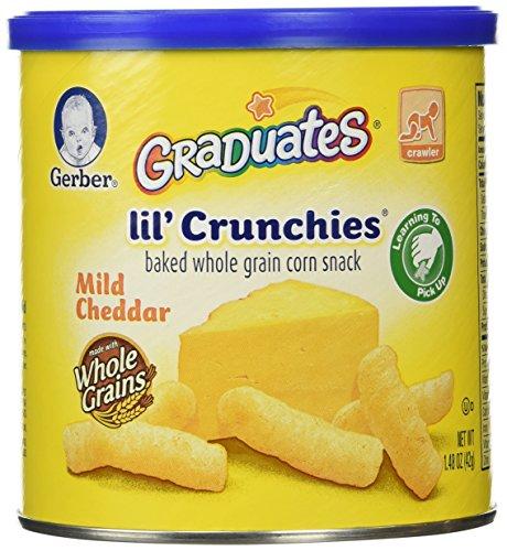 Gerber Graduates Lil' Crunchies, Mild Cheddar, 1.48 oz by Nestle Nutrition