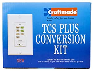 Craftmade PX52OI Wall Unit Remote Total Control System Upgrade Kit, Old Iron