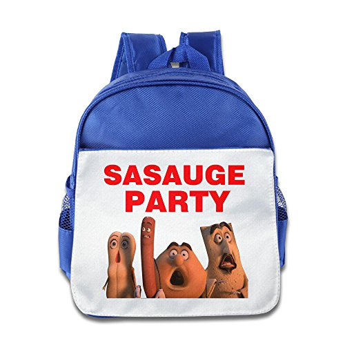 Sausage Party Backpack Kids School Bag RoyalBlue