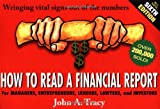 How to Read a Financial Report, John A. Tracy, 0471478679
