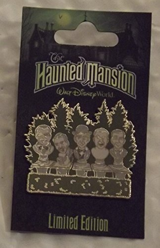 Bust Pin - Disney's The Haunted Mansion Pin, Singing Busts, LE1000, Pin Pic # 60187