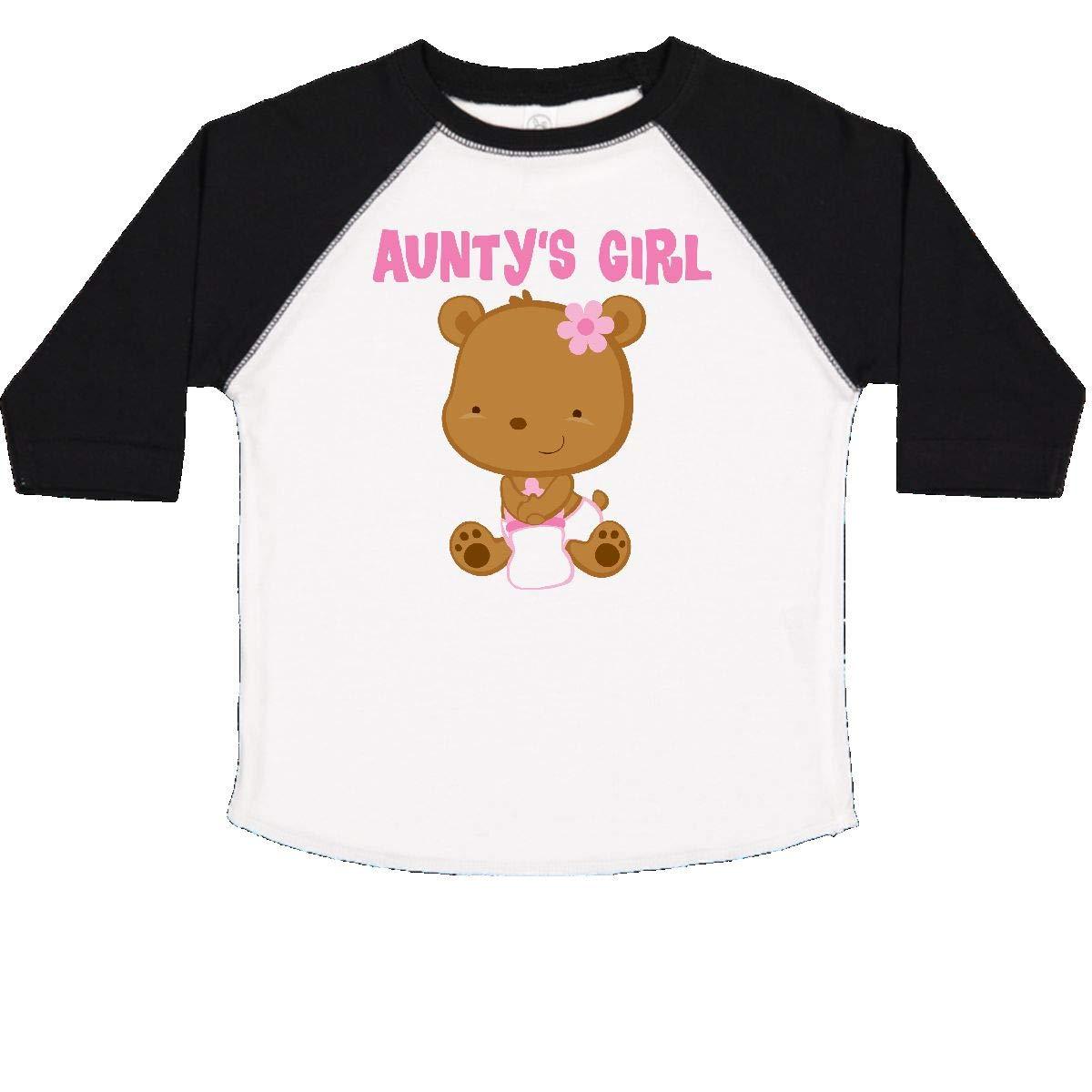 inktastic Auntys Girl Toddler T-Shirt