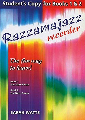 Razzamajazz Recorder Books 1,2,3 pdf epub