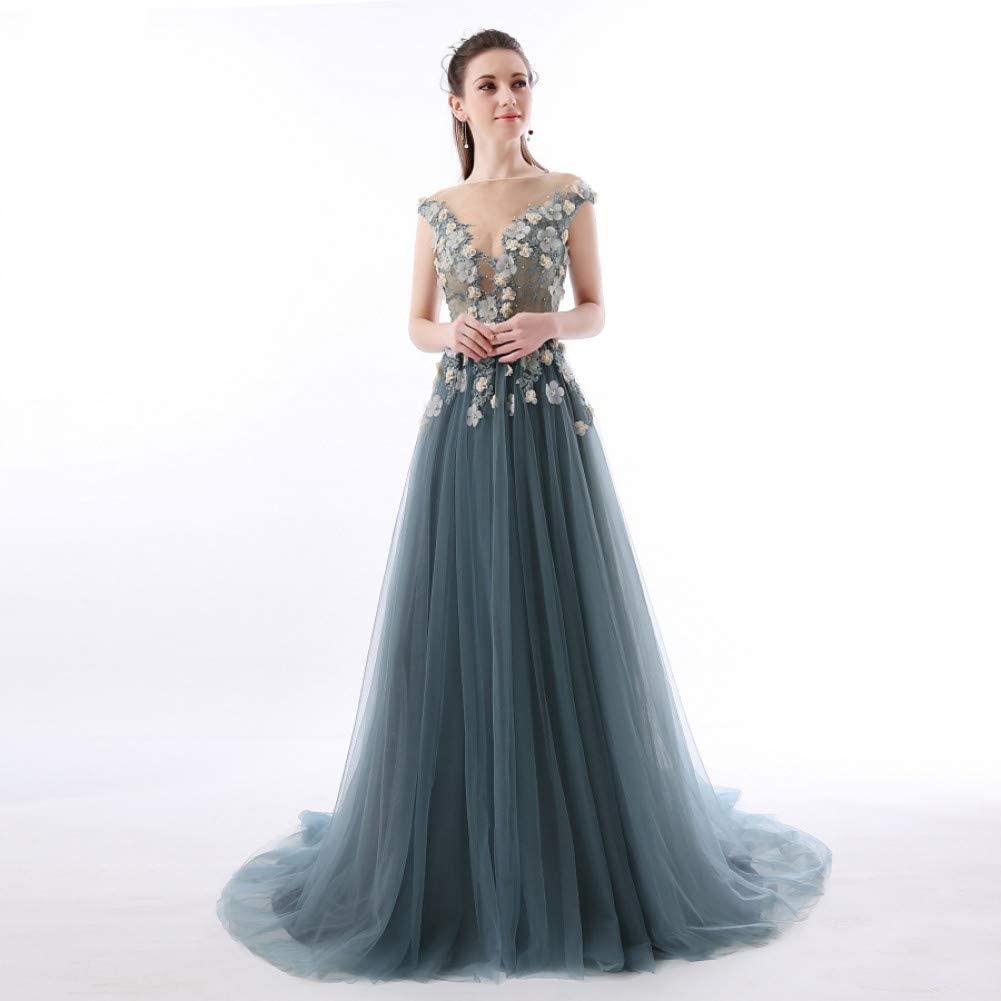 BINGQZ Dress/Cocktail Dresses/Casual Abendkleider Lang Lace Prom
