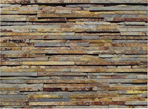 Natural Stone Stacked Wall Siding - Thin Ledge -