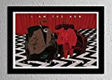 I am the Arm - Little Man From Another Place - Twin Peaks - Original Minimalist Art Poster Print