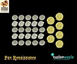 Game Accessories Customeeple Pax Renaissance Deluxe Coins - Mixed
