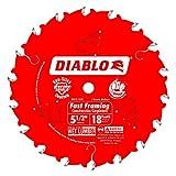 Freud D0518x 5-1/2-Inch x 18 Tooth Framing Circular Saw Blade