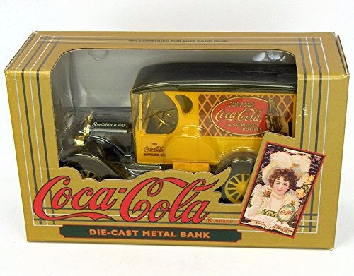 [Coca-Cola Vintage Red Bottle Truck Coin Bank] (Dss Coin)