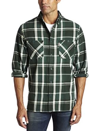 Woolrich Men's Salt Creek Shirt, Sprig, Large