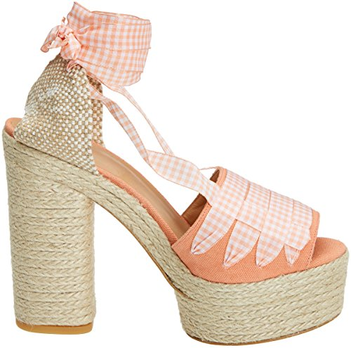 Ss18001 Femme Sandales Orange Castañer 902 Plateforme Abbey Orange 5ZgxqqBn