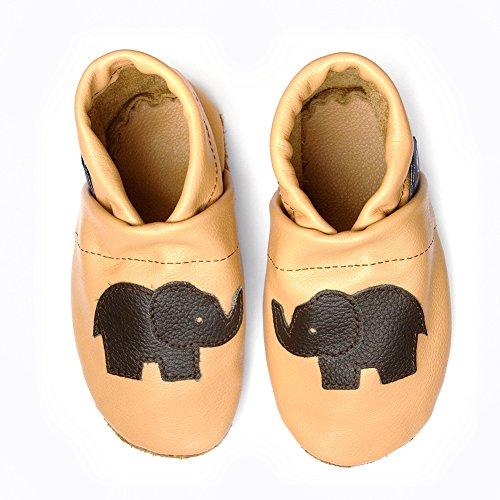 Schluffen Schlappen Mit 36 Pantoffeln 45 De Hauschuhe Mujer Pantau Zapatillas Por Piel Größen Lederpuschen Estar dunkelbraun Para Casa Elefant Patschen eu Puschen Leder Apricot XYzYnq478