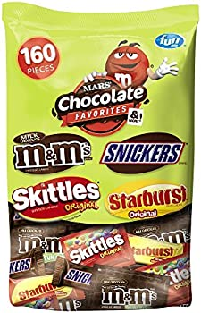 160-Count MARS Chocolate Variety Mix