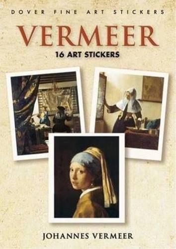 Vermeer: 16 Art Stickers (Dover Art Stickers) PDF