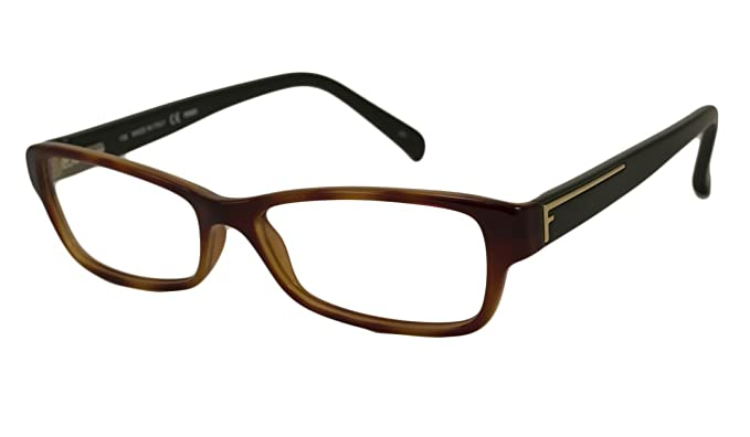 Fendi Rx Eyeglasses - F1037 Blonde Havana / Frame only with demo ...